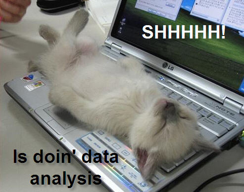 Shhhhh! Is doin' data analysis